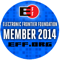 EFF Members badge